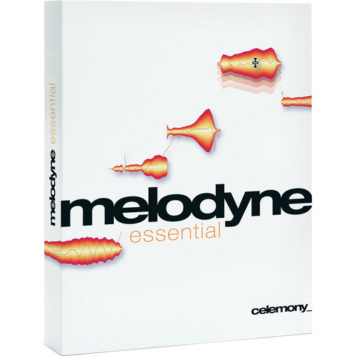 Celemony Melodyne essential - Monophonic Pitch Shifting/Time Stretching Software