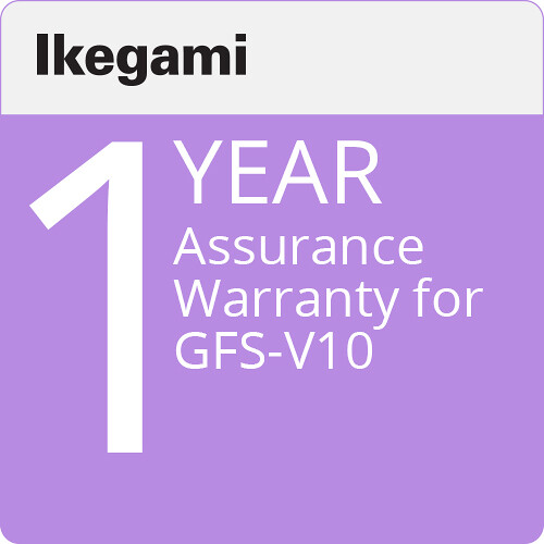 Ikegami Assurance / 1 Year Warranty for GFS-V10