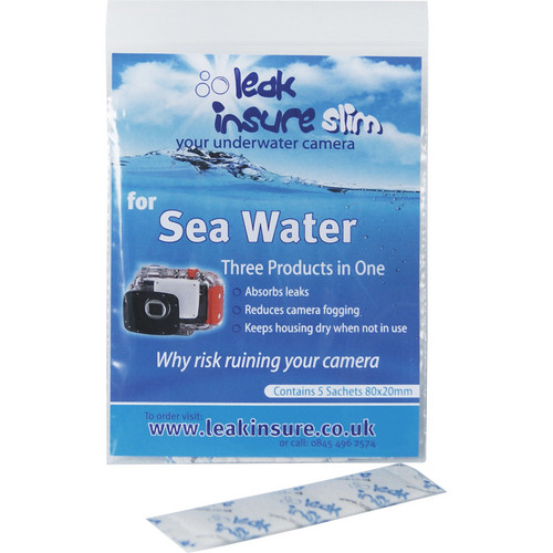 Leak Insure Slim Protective Absorbent Sachets for Underwater Housings (5 Sachets)