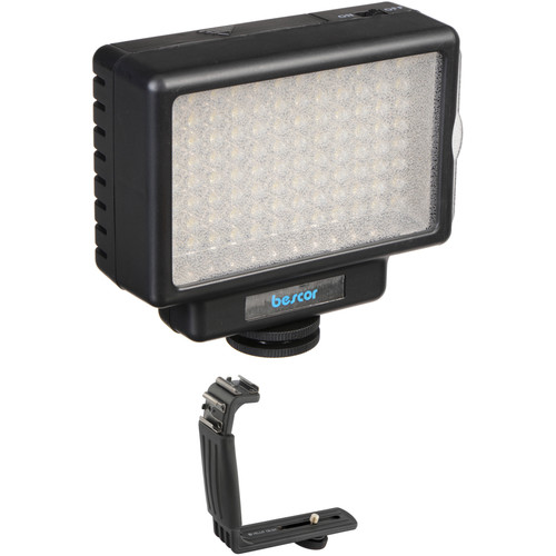 Bescor LED-70 70W LED Shoe Mount Adapter Kit
