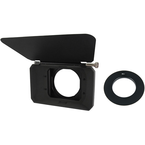 Genustech Wide Angle Matte Box Kit with French Flag & 58mm Adapter Ring