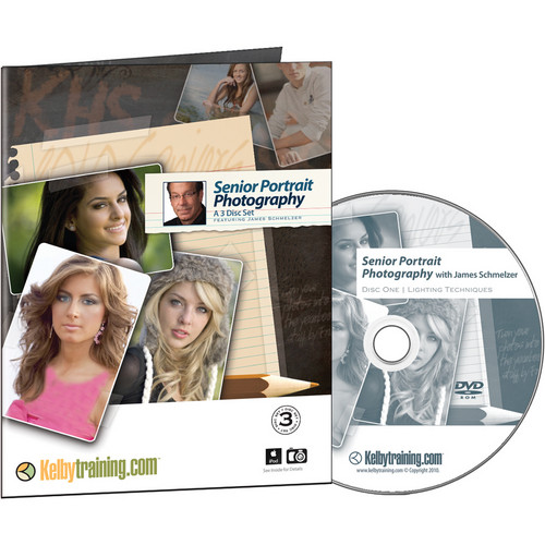 Kelby Training DVD: Senior Portrait Photography with James Schmelzer