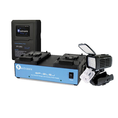 Switronix Sony Pro Battery & Light Kit
