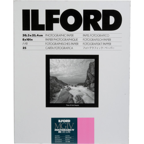 Ilford Multigrade IV RC Deluxe MGD.1M Black & White Variable Contrast Paper (8 x 10