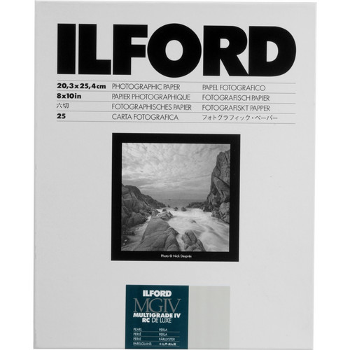 Ilford Multigrade IV RC Deluxe MGD.44M Black & White Variable Contrast Paper (8 x 10
