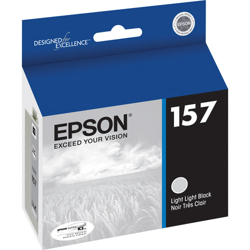 Epson 157 Light Light Black Ink Cartridge