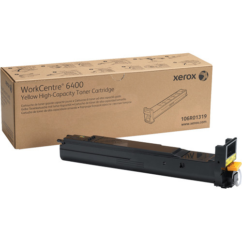 Xerox Yellow High Capacity Toner Cartridge For WorkCentre 6400