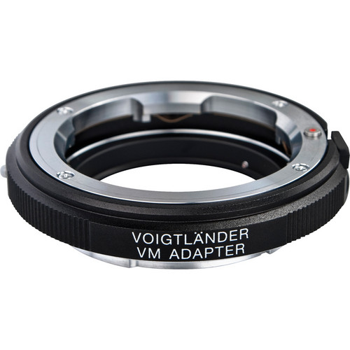 Voigtlander Adapter for Sony E Mount Cameras--VM Mount Lens (Black)