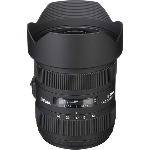 Sigma 12-24mm F4.5-5.6 EX DG ASP HSM II Wide-Angle Zoom Lens