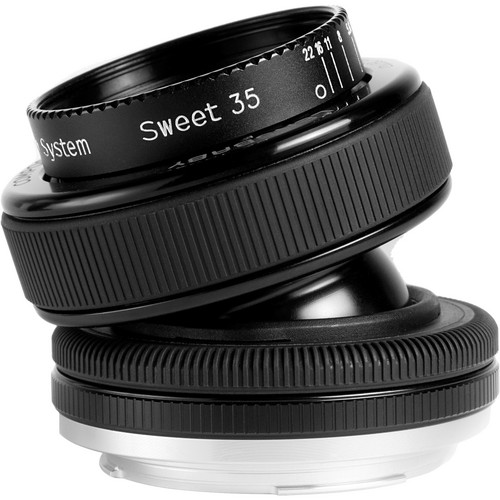 Lensbaby Composer Pro With Sweet 35 Optic (For Olympus E1 4/3 Camera)