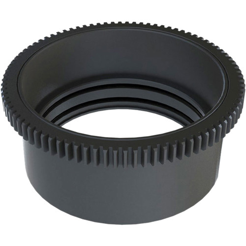 Aquatica Zoom Gear for Tokina AT-X 10-17mm + 1.4x Converter Lens in Lens Port