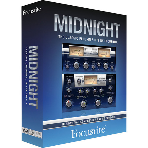 Focusrite Midnight Plug-In Suite - EQ and Dynamics Virtual Processors
