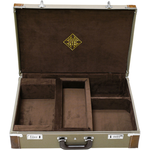 Telefunken Leather Bound Cordora Combination Locking Flight Case