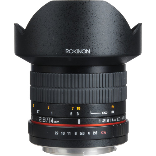 Rokinon 14mm Ultra Wide-Angle f/2.8 IF ED UMC Lens For Olympus 4/3