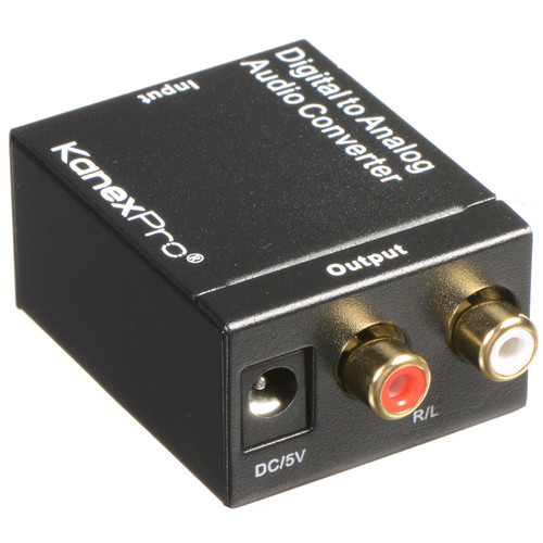 KanexPro Digital to Analog Audio Converter