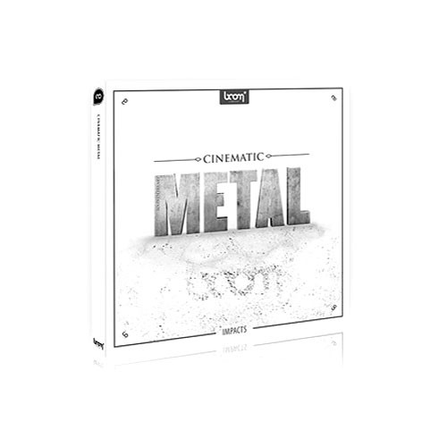 Sound Ideas Cinematic Metal Impacts Sound Effects Library (CD-ROM)