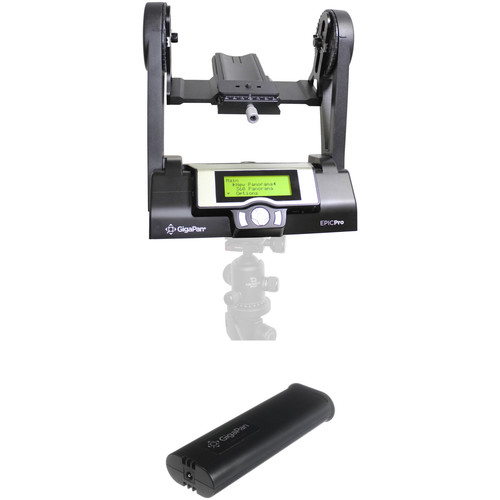 GigaPan EPIC Pro Robotic Camera Mount with Additional Battery Kit