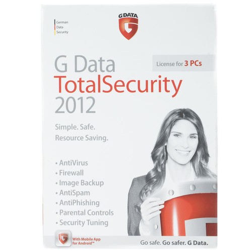 Other Brand GDATA Total Security 2012 (License for 3 PCs)