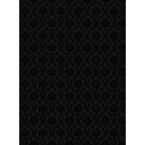 Impact Velour Background (9 x 12', Black)