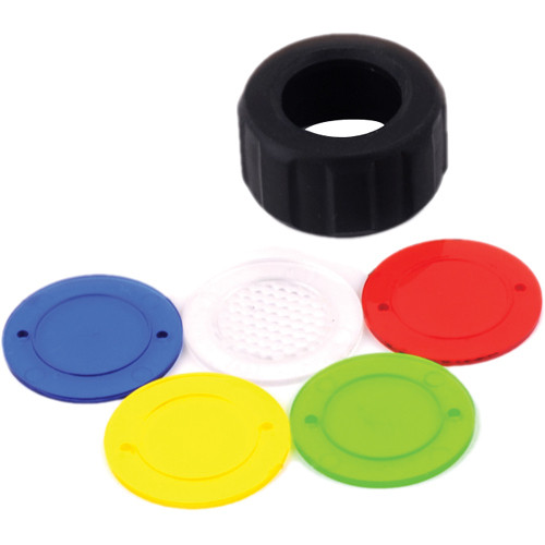 SpotLight Color Caps for Flashlight (Set of 5)
