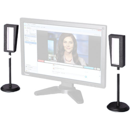 Videssence ViewMe Video Chat Lighting Kit with Stands