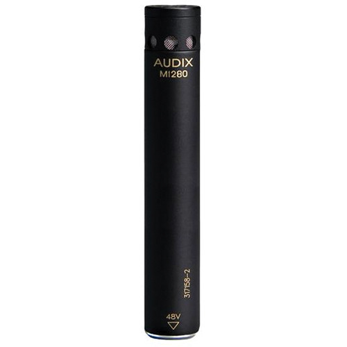 Audix M1280B Miniature Condenser Microphone (Black)