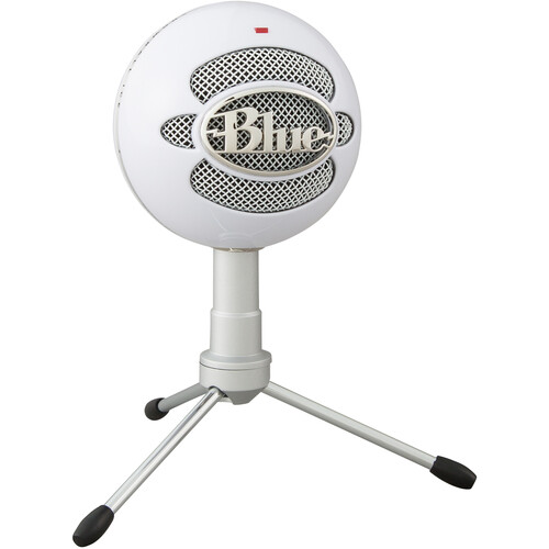 Blue Snowball USB Condenser Microphone with Accessory Pack (Ice)