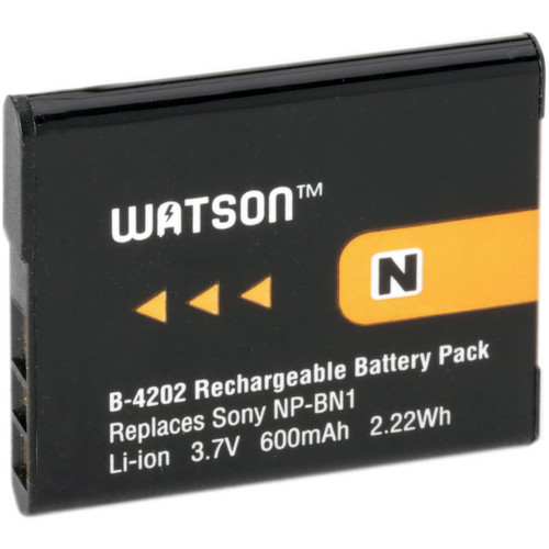 Watson NP-BN1 Lithium-Ion Battery Pack (3.7V, 600mAh)