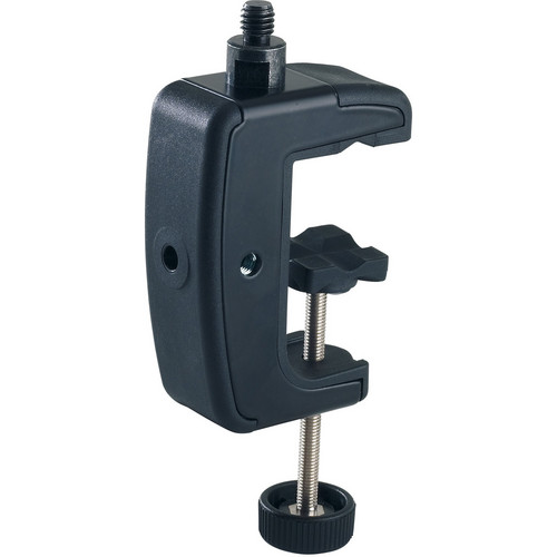 K&M 23720 Table Clamp (Black, 1/4