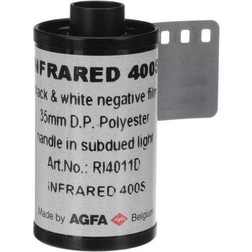Rollei/AGFA 135-36 Black and White Infrared Film (2 Pack)