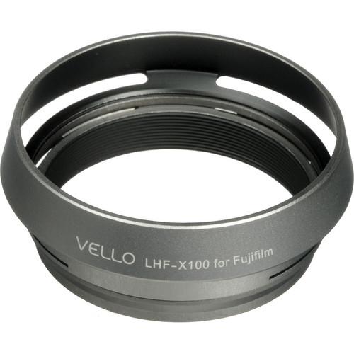 Vello LH-X100 Dedicated Lens Hood (Silver)