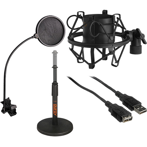 B&H Photo Desktop USB Microphone Essentials Kit