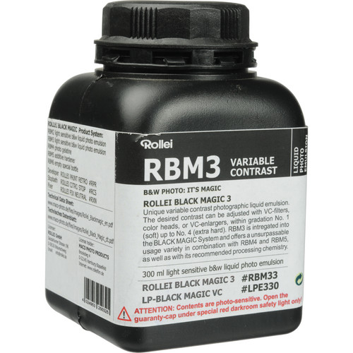 Rollei/AGFA Maco Black Magic Liquid Emulsion, Variable Contrast (300ml)