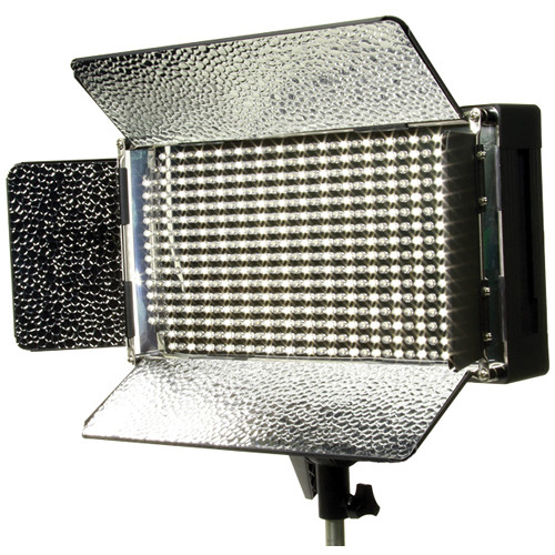 Ikan IB500 Bi-Color LED Studio Light with Anton Bauer Battery Mount