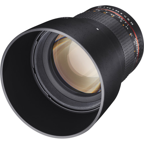 Samyang 85mm f/1.4 Aspherical Lens for Olympus 4/3