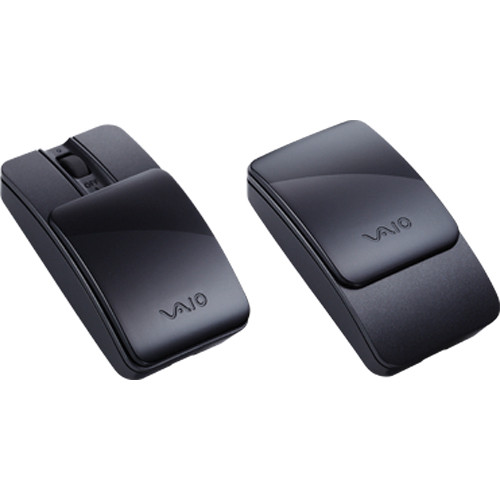 Sony VAIO Bluetooth Slider Mouse (Black)