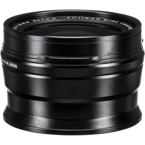 Fujifilm WCL-X100 Wide-Angle Conversion Lens for X100 Camera (Black)