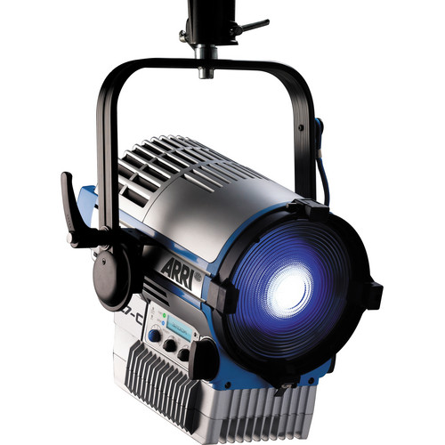 Arri L7-C Color LED Fresnel (Pole Operated) - Blue/Silver