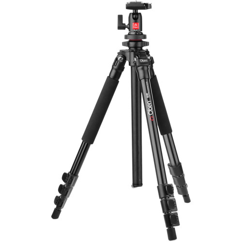 Oben AC-1421 4-Section Aluminum Tripod with BA-106 Ball Head