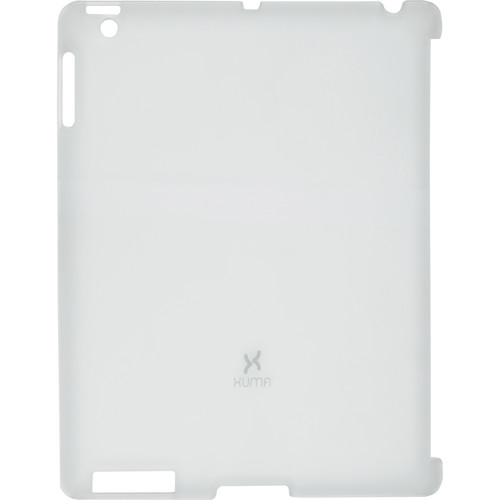 Xuma Smart Cover Compatible Snap-On Case for iPad 2nd, 3rd, 4th Gen (Clear)