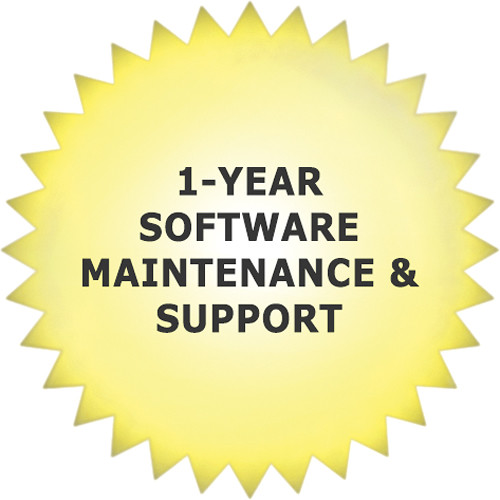 aimetis 1-Year Software Maintenance & Support for Symphony Web Edition VMS