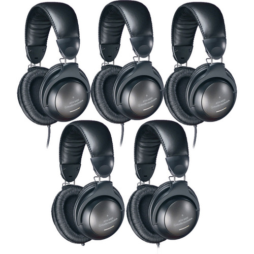 Audio-Technica ATH-M20 Headphone Kit (5 Pack)