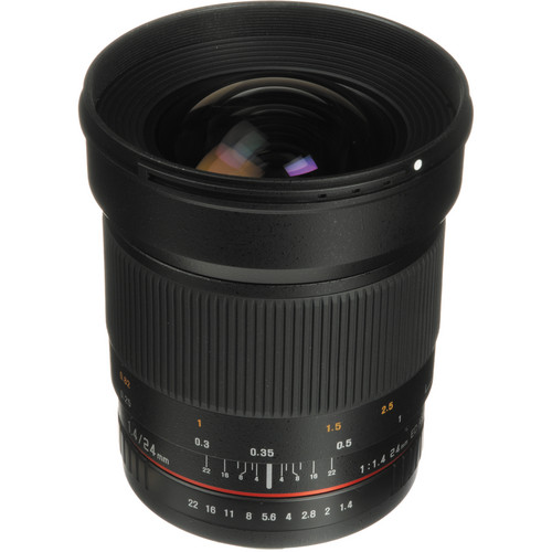 Samyang 24mm f/1.4 ED AS UMC Wide-Angle Lens for Sony Alpha