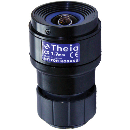 Theia Technologies CS-Mount 1.67mm f/1.8 3 Mp Ultra-Wide Day/Night Manual Iris Lens