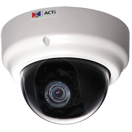 ACTi KCM-3311 3.6x Zoom 4 MP IP Day/Night Dome Camera with P-Iris & ExDR