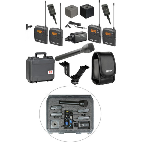 Sennheiser ew 100 ENG G3 Dual Wireless Deluxe Kit - B (626-668 MHz)