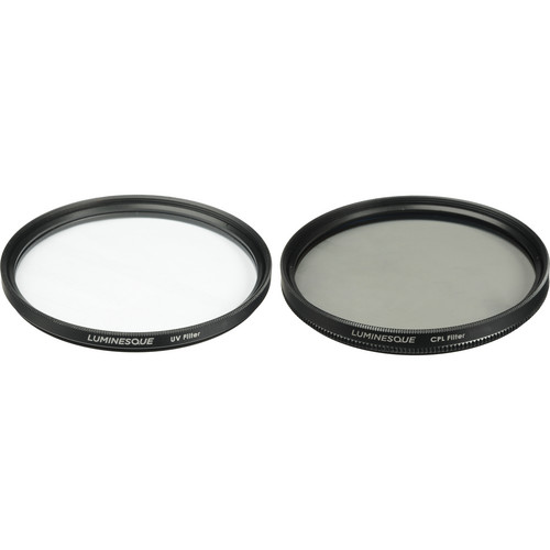 Luminesque 77mm UV and Circular Polarizer Multi Coated Pro Filter Kit