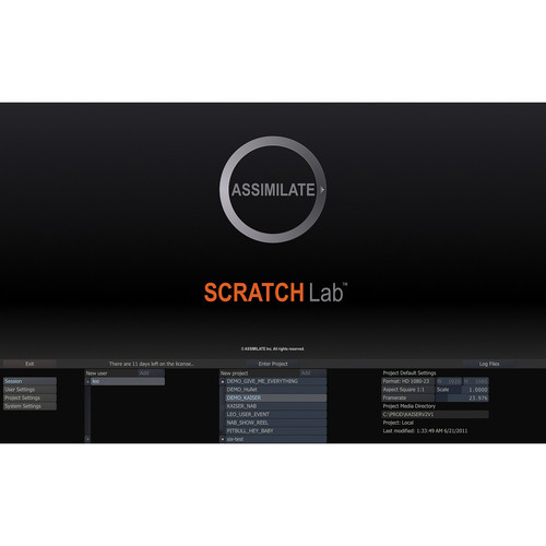 Assimilate SCRATCH Lab 7 for Windows