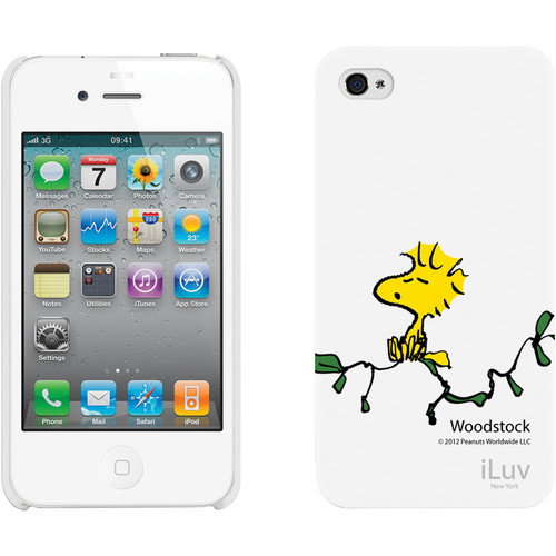 iLuv Snoopy Character Series - Hardshell Case for iPhone 4S / 4 (White)