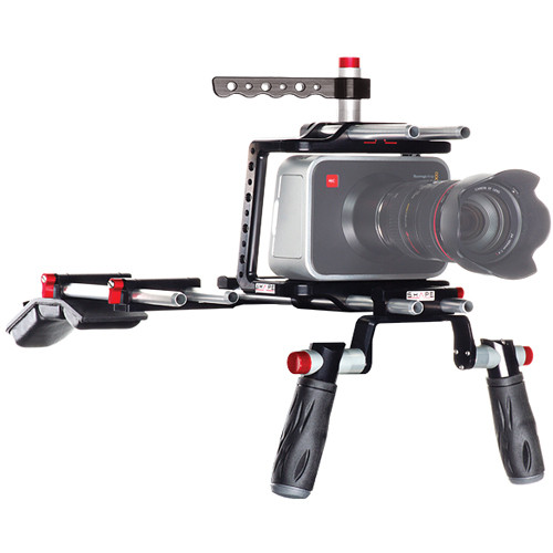 SHAPE Blackmagic Shoulder Mount Offset Camera Rig